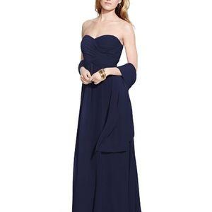 Ralph Lauren Georgette Formal Dress